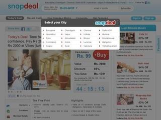 Snapdeals 50% discount code